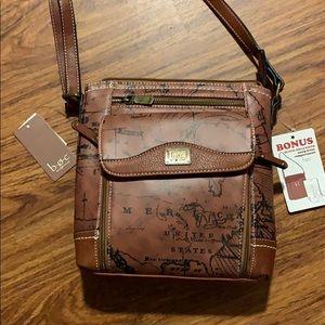 b.o.c voyager organizer crossbody bag